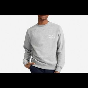 Everlane 100% Human Crew Neck Sweater